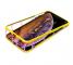 Husa Plastic Nillkin Ombre cu spate din sticla pentru Apple iPhone XS Max, Galbena, Blister