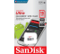 Card Memorie MicroSDHC SanDisk, 16Gb, Clasa 10 - UHS-1 U1, Blister SDSQUNS-016G-GN3MN