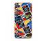Husa TPU DC Comics Liga 001 pentru Apple iPhone X / Apple iPhone XS, Multicolor, Blister WPCHEROS130