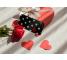 Husa TPU Vennus Kiss cu spate din sticla pentru Samsung J6 Plus (2018) J610, Neagra, Bulk