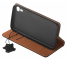 Husa Piele OEM Smart Pro pentru Apple iPhone XS Max, Neagra, Bulk
