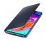 Husa Samsung Galaxy A70 A705, Wallet, Neagra, Blister EF-WA705PBEGWW