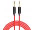 Cablu Audio 3.5 mm la 3.5 mm HOCO UPA11, 1 m, Rosu, Blister