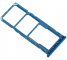 Suport Card - Suport SIM 1 / 2 Albastru Samsung Galaxy A7 (2018) A750 Dual SIM