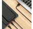 Cablu Incarcare USB la Lightning - USB la MicroUSB - USB la USB Type-C Borofone BX17 Enjoy, 1 m, Negru, Blister