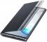 Husa Plastic Samsung Galaxy Note 10 N970, Clear View, Neagra, Blister EF-ZN970CBEGWW