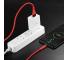 Cablu Incarcare USB la USB Type-C HOCO U53, Flash 5A, 1.2 m, Rosu, Blister