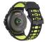Ceas Bluetooth Smartwatch MyKronoz ZeSport2, Negru-Verde, Blister KRZESPORT2