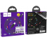 Cablu Date si Incarcare USB la MicroUSB HOCO U63 Spirit, cu LED-uri, 2.4A, 1.2 m, Negru, Blister