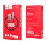 Cablu Date si Incarcare USB la Lightning HOCO U35 Space shuttle smart power off, 2.4A, 1.2 m, Negru, Blister
