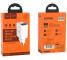 Incarcator Retea USB HOCO C63A Victoria, Afisaj Led, 2.1A, 2 X USB, Alb, Blister