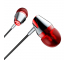Handsfree Casti In-Ear Borofone Melody Coolmelody BM13, Cu microfon, 3.5 mm, Argintiu - Rosu, Blister