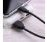 Cablu Date si Incarcare USB la USB Type-C Remax Suji RC-134a, 2.1A, 1 m, Negru, Blister