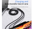 Cablu Incarcare USB la Lightning - USB la MicroUSB - USB la USB Type-C Joyroom S-M98K, 3 in 1, 3.5A Fast Charging, 1.2 m, Negru, Blister