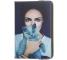 Husa Poliuretan GreenGo Lady with cat pentru Tableta 7 inci - 8 inci, Multicolor, Bulk