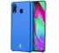 Husa Piele DUX DUCIS Skin Lite pentru Samsung Galaxy A40 A405, Albastra, Blister