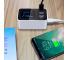 Incarcator Retea Statie USB OEM CDA30 20W, cu LED Display, 1 X USB Tip-C - 3 x USB, Alb, Blister