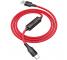 Cablu Date si Incarcare USB la USB Type-C HOCO Timing S13, 1.2 m, Rosu, Blister