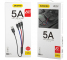 Cablu Date si Incarcare USB - Lightning / USB Type-C / MicroUSB Dudao L10pro, 5A, 0.38 m, Alb, Blister