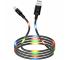 Cablu Date si Incarcare USB la USB Type-C XO Design NB108, 2.1A, 1 m, Negru