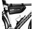 Geanta Plastic impermeabila SAKWA WILDMAN E4 pentru Bicicleta, HARDPOUCH, Negru, Blister