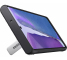 Husa Plastic - TPU Samsung Galaxy Note 20 N980 / Samsung Galaxy Note 20 5G N981, Standing Cover, Argintie, Resigilat, Blister EF-RN980CS