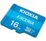 Card Memorie MicroSD KIOXIA Exceria (M203) cu Adaptor, 16Gb, Clasa 10 / UHS-1 U1 LMEX1L016GG2