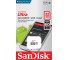 Card Memorie MicroSDHC SanDisk Ultra, 32Gb, Clasa 10 / UHS-1 U1 SDSQUNR-032G-GN3MN