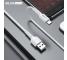 Cablu Date si Incarcare USB la USB Type-C BLUE Power BDU01 Novel, 1 m, 2.4 A, Alb, Blister