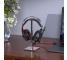Casti Gaming HOCO W102 Cool, cu microfon, 3.5 mm, USB, Negre Rosii