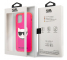 Husa TPU Karl Lagerfeld Choupette Head pentru Apple iPhone 12 mini, Fluorescent, Roz KLHCP12SCHTRP