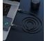 Cablu Date si Incarcare USB Type-C la USB Type-C HOCO Exquisito X50, 1 m, 100W, Negru