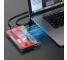 Rack Extern USB Orico 025803, HDD / SSD 2.5 inch, SATA, USB 3.0, Transparent