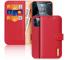 Husa Piele DUX DUCIS Hivo pentru Apple iPhone 12 / Apple iPhone 12 Pro, Rosie