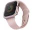 Husa Protectie Ceas UNIQ Valencia Apple Watch Series 4 44mm Aluminum / Apple Watch Edition Series 5 / Apple Watch Series 6, Roz