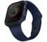 Husa Protectie Ceas UNIQ Valencia pentru Apple Watch Series 4 40mm / Apple Watch Series 5 / Apple Watch Edition Series 6, Albastra